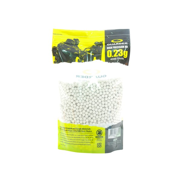AIRSOFT BB KROGLICE GUARDER HIGH PRECISION MADE 0.23G 4300 PCS