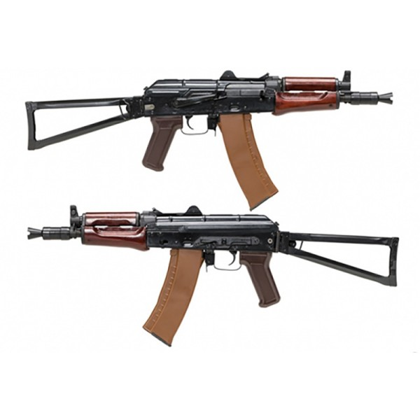 AIRSOFT ELEKTRO PUŠKA E&L AKM 47 U FULL METAL REAL WOOD