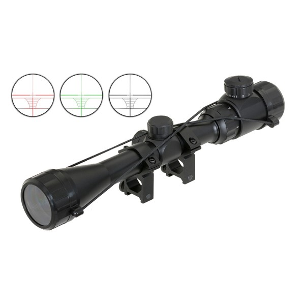 AIRSOFT STRELNI DALJNOGLED SCOPE 3-9X40 ILUMINACIJA