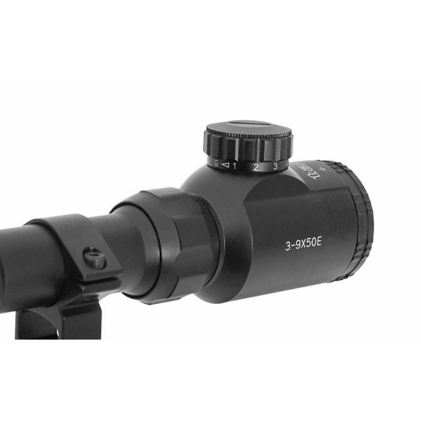 AIRSOFT STRELNI DALJNOGLED SCOPE 3-9X50 ILUMINACIJA