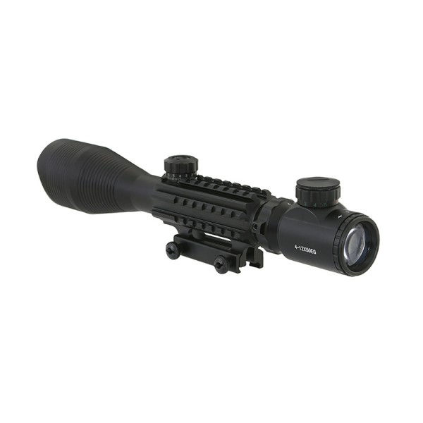 AIRSOFT STRELNI DALJNOGLED SCOPE 4-12X50 ILUMINACIJA